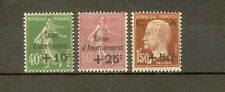 """FRANCE STAMP TIMBRE 253/55 """" CAISSE AMORTISSEMENT 3e SERIE """" NEUFS xx LUXE H314"""