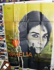OPHELIA Claude Chabrol Alida Valli French '62 grande original movie poster