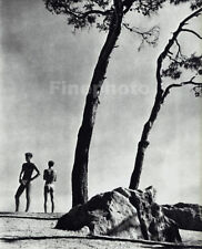 1936/88 Vintage Male Nude By HERBERT LIST Naxos Greece Landscape Photo Art 12X16