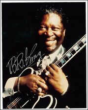 2 NEW BB B B King Pre-Print Hand Signed Photos Autograph Picture Print 8 x 10