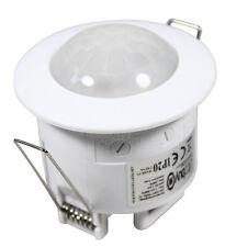 Bewegungsmelder Deckeneinbau 360° bis 6m 10sec - 7min LED Mindestlast 1 Watt