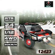 Wltoys 12423 1:12 2.4GHz 4WD 50km/h High Speed RC Truck Racing Rennauto Auto Car
