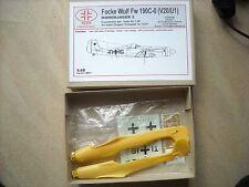 RVR-1/48-#48011-FOCKE WULF FW 190C-0(V20/U1) FOR ITALERI,DML TRIMASTER TA152H