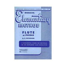 Hal Leonard 04470040 Rubank Elementary Method - Flute/Piccolo