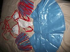 LADIES CHEERLEADERS OUTFIT, SIZE12 - BNWT