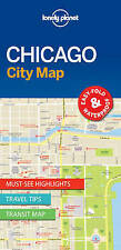Lonely Planet Chicago City Map (Travel Guide) by Lonely Planet | Map Book | 9781