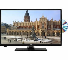 """JVC LT-24C655 Smart 23.6"""" LED TV with Built-in DVD Player 1366 x 768 Wifi Black"""