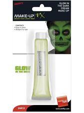 Glow In The Dark Cream Make Up In Tube Smiffy's FX - Halloween 1oz Tube