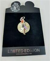 LE250 Disney Store Pin Pirate Coin Jessica Rabbit as Red Head Original Card