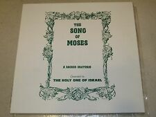 George King Song of Moses Oratorio Church of God Eternal Eugene OR 1983 Box Set