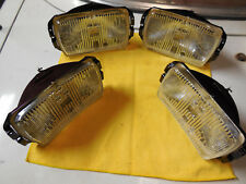 Cibie type 175 NOS clear fog lens units BLOW OUT OFFER (2 pair) w/OE boxes