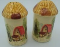 Vintage Salt And Pepper Shakers Sears Roebuck Made In Japan 1978 Country Farm