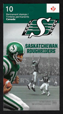 Canada -Booklet of 10 -100th Grey Cup: Saskatchewan Roughriders #2572a (BK503)