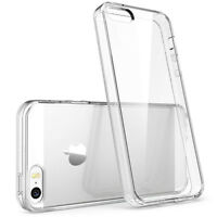Soft TPU Transparent Crystal Clear Back Case Cover Skin For Apple iPhone SE/5/5S