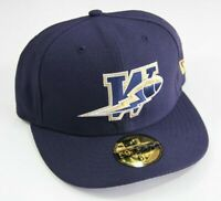 New Era CFL Winnipeg Blue Bombers Fitted Hat Size 6 7/8    54.9 cm   New