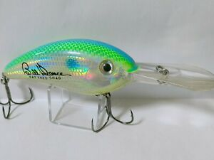 Bomber Fat Free Shad BD7F Deep crank 3 in 3/4 oz Signed by Bill Dance From Japan
