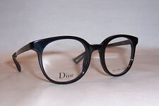 NEW CHRISTIAN DIOR EYEGLASSES CD 3287 ANS BLACK 48mm RX AUTHENTIC