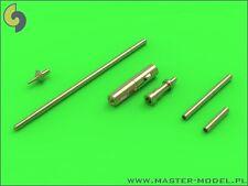 MiG-15 & MiG-15bis - gun barrels set, antenna base, AM-48-089, scale 1:48,Master