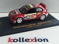 IXO RAM164 TOYOTA COROLLA WRC n°46 Monza Rally 2004 V. Rossi - C. Cassina 1.43