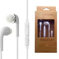 White InEar Earphone Earbud with Mic For Samsung Galaxy S4/S3/S2/Note/N : L0C0