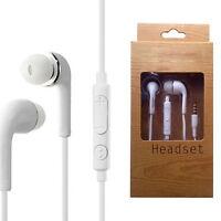Neu Stereo Ohrhörer Kopfhörer Headset Ohrhörer Mic für Smartphone Samsung