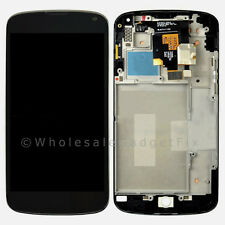 OEM LG E960 Google Nexus 4 LCD Touch Digitizer Screen Assembly + Frame Parts USA