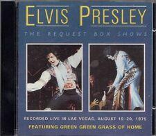 Elvis Presley - The Request Box Shows - Original CD - New***** Bilko CD 1594