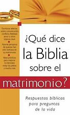 ¿Qué dice la Biblia sobre el matrimonio?: What the Bible Says About Marriage