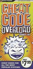 Cheat Code Overload Summer 2011 by BradyGames Staff (2011, Paperback)