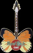 Hard Rock Cafe BEIJING 2000 BUTTERFLY GUITAR Series PIN - HRC Catalog #1059