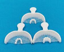 Dental Bite Registration Disposable Impression Triple Trays Anterior 40/box