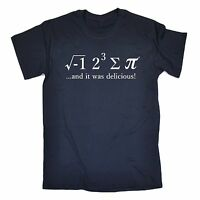Funny T Shirts Novelty I Ate Some Pi tshirt Maths 8 Sum Pie birthday shirt tee