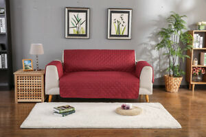 Pet Protector 2 3 4-Seater Sofa Covers Quilted Nonslip Floral Slipcover for Room