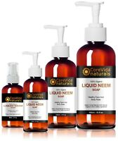Liquid Neem Soap Psoriasis Eczema Acne Scabies Rosacea Anti fungal Face And Body