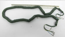 New Telephone Handset Cord - 12' Green Contempra 5-Conductor