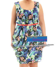 BNWT $169.95 Cooper Street + ORIENTAL GARDEN Floral Drape Dress Size 16