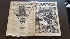RADIOCORRIERE anno 6 n 46 1930 STAZIONI RADIO A ROMA E NAPOLI RADIO CROSLEY 6/17