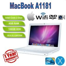 "Apple MacBook A1181 13.3"" Laptop (2009) - 4GB RAM / 120GB HDD - 12 Month Warrant"