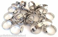"""New listing 25 Goliath Industrial Stainless Steel Hose Clamps 1-1/4 - 1-3/4"""" Sshc134 32-44Mm"""