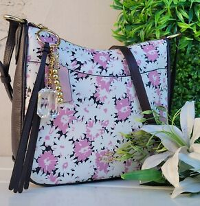 New COACH 89471 CHAISE daisy floral Crossbody  purse shoulder messenger bag