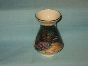 Goss Vase - RUSTIC BRIDGE, BOSCOMBE CHINE Colour Transfer