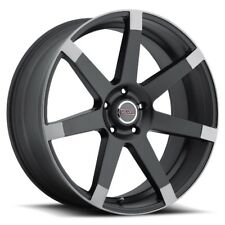 20X9 Milanni 9042 Sultan 5x114.3 ET15 Matte Black Rims (Set of 4)