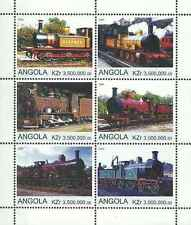 Timbres Trains Angola ** année 2000 (52978)