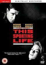 THIS SPORTING LIFE. Richard Harris, Rachel Roberts. New Sealed DVD.