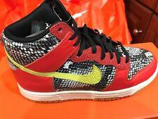 New Nike Womens Dunk Hi LX Lux Shoes Sneakers 881233-800 sz 7 Python FREE SHIP
