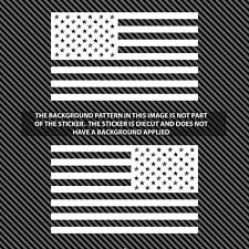"""American Subdued Flags Tactical Military PAIR Flag USA Decal JEEP 5""""x3"""""""