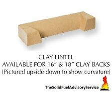 "Complete Firefix kit for 16"" Solid Fuel Clay Fire Back suitable for Coal Fire"