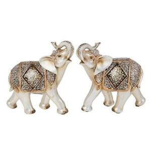 BEAUTIFUL SHUDEHILL DIAMOND CRACKLE  ELEPHANT FIGURE HOME DECOR CHOICE OF DESIGN