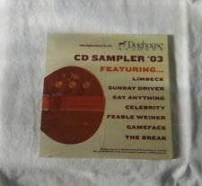 Redline Entertainment CD Sampler '03/ DVD Sampler '03 2-Pack Set New Sealed Rare