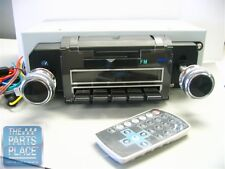 1969 Chevrolet AM/FM Factory Look Blue Dot Radio With Digital Face - New